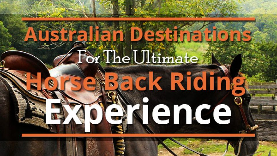Australian Destinations For The Ultimate Horse Back Riding Experience
