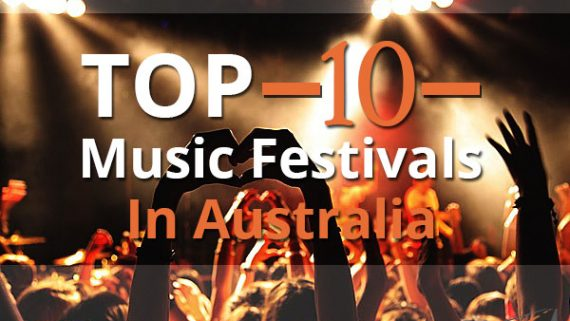 Top 10 Music Festivals In Australia